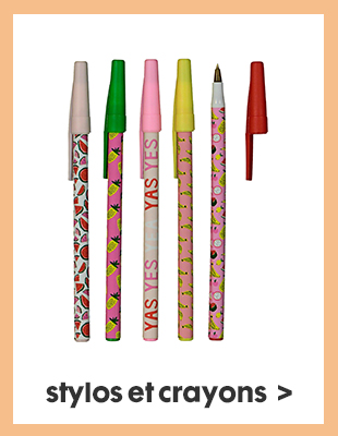 stylos et crayons