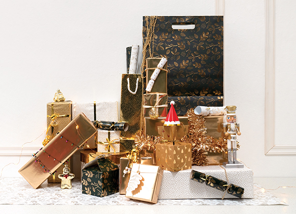 merry gift wrapping
