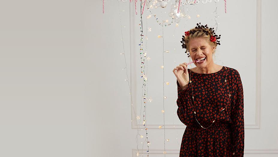 dames feestkleding kerstcollectie